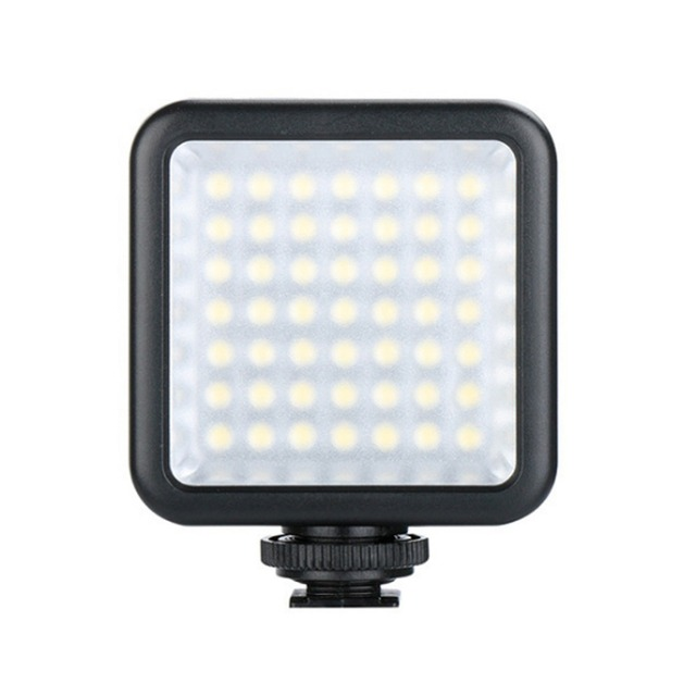 49 LED Dimmable Ultra Bright Portable High Power Panel Video Light LED Light for DJI OSMO 2 Zhiyun Smooth 4 Gimbals,Sony Camera