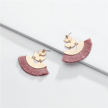 Joolim Gold Color 7 Colors Tassel Dangle Earring On Trendy Earrings Wholesale