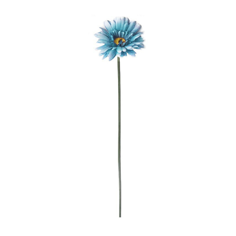 Artificial Flowers Realistic Fake Flowers <font><b>Gerbera</b></font> <font><b>Daisy</b></font> Bridal Wedding Bouquet for Home Garden Wedding Party Decorations <font><b>Gerbera</b></font> image