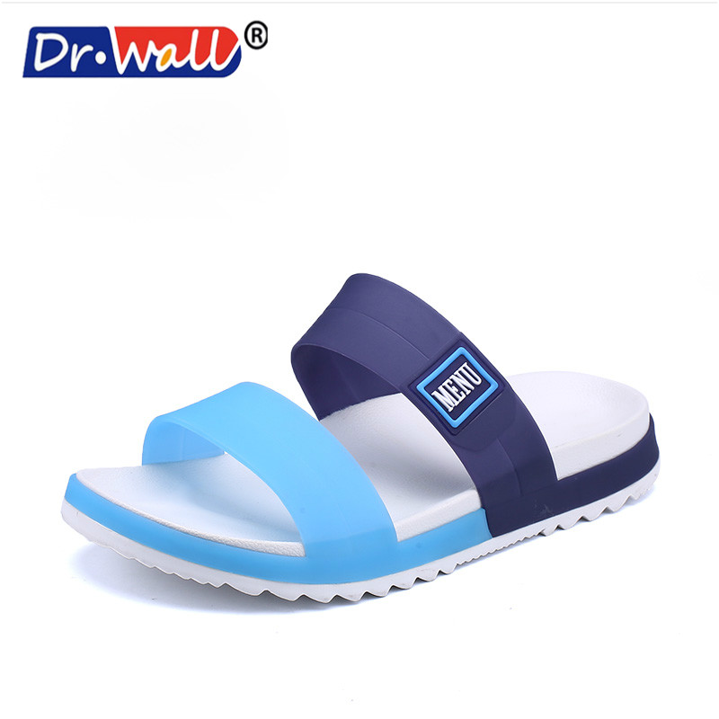 Men Shoes Household Slippers Slip Bathroom Slippers Male Summer Indoor Bath Slippers Flats Sandals Beach Flip-flops