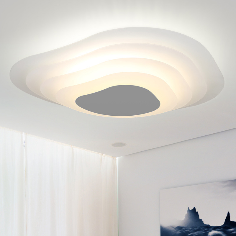 Modern LED Ice Layer Acrylic Ceiling Lights D45/D60cm Fixture Home Indoor Lighting Bedroom Foyer Living Room Ceiling Lamps паяльник псков пп 100