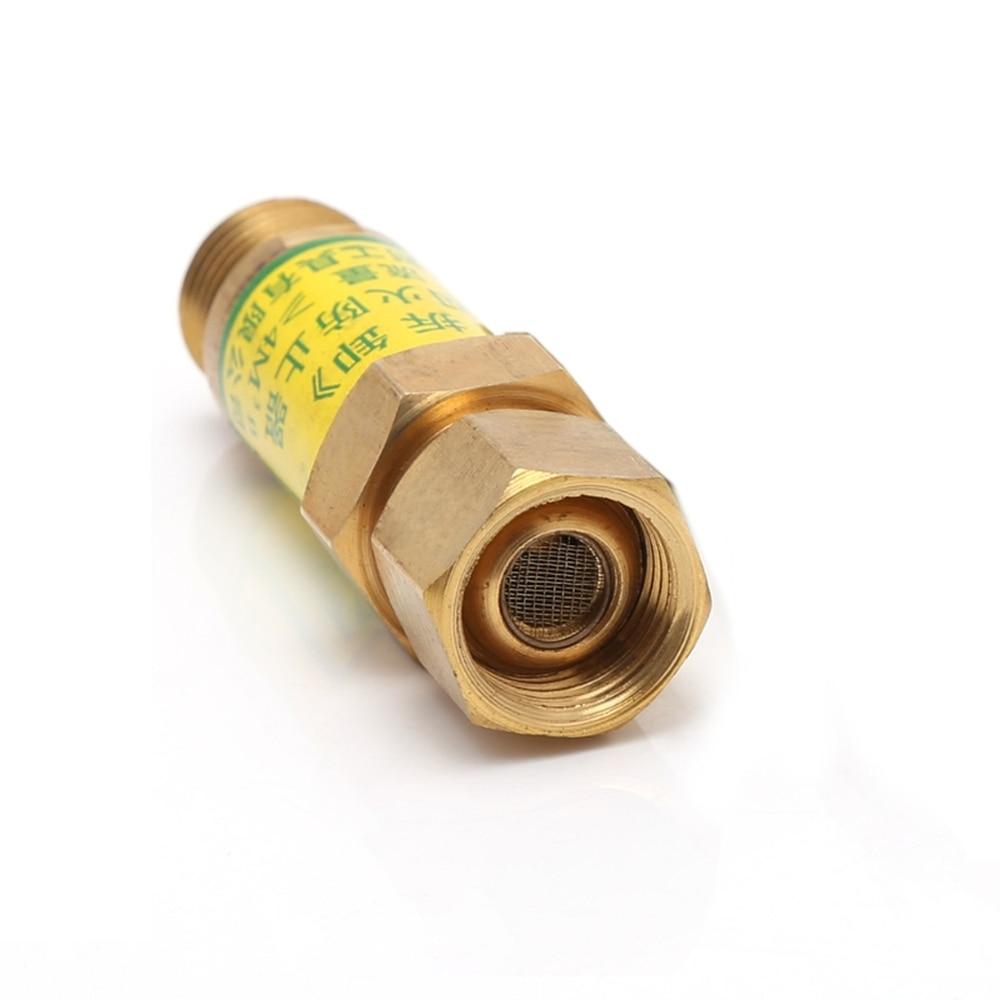M16x1.5 Flashback Arrestor Acetylene Check Valve Pressure Reducer Cutting Torch