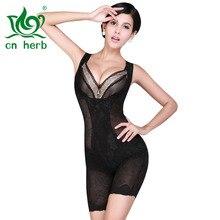 Cn Herb Thin Waist Abdomen Seamless Corset Jumpsuit / Tights Body Shaping Underwear Postpartum