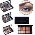 1 unids Cosmetic 10 Colores Urbana Naked Glitter Maquillaje Shimmer Smoky Eyeshadow Palette