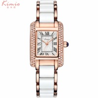 KIMIO Ladies Watches Luxury Brand Women S Bracelet Watch Business Casual Quartz Clock New Woman Dress