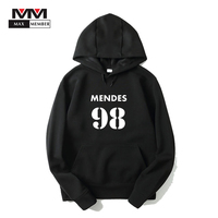 XS 3XL Men Unisex Autumn Shawn Mendes 98 Logo Printed Hooded Hoodies With Pocket Cap Sweatshirts