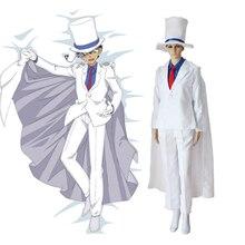 Anime Case Closed Cosplay Costumes Kaito Kuroba Costume Halloween Carnival Party Detective Conan Uniform