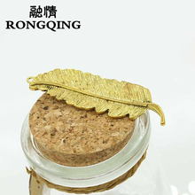 RONGQING 1pcs NEW Fashion Sweet leaf Hairpin Women's Headwear Ladies Hairpin Lovely Girl Hair Acessories hair clips for women