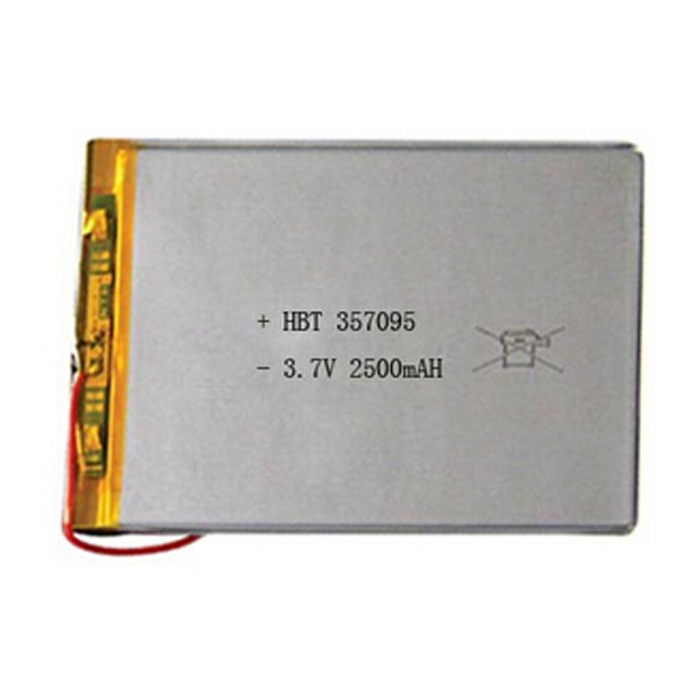 2500mAh 3.7V Polymer Lithium Ion 357095 Battery Replacement Tablet Battery For Tablet Pc 7 Inch MP4 MP3