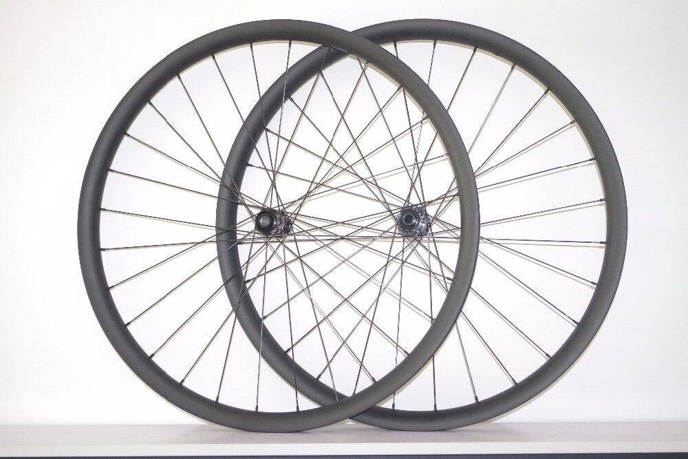 DEERACE 29ER 28/28H 28mm 38mm Asymmetrical MTB BOOST wheels center lock straight pull disc wheelset 240S 15mm 110mm 12mm 148mm