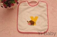 12PCS/Set YB0020 08 Burp Cloths Infant saliva towels Baby bib Baby waterproof bib Free shipping