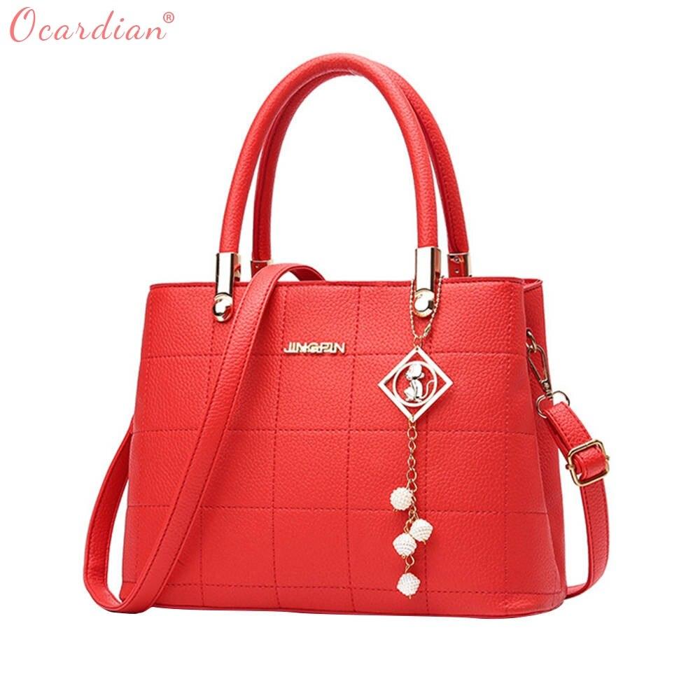 Ocardian 2017 Лидер продаж Новинка 2017 года простая атмосфера женские сумки дамы диких плеча мастер дизайнер челнока 171013