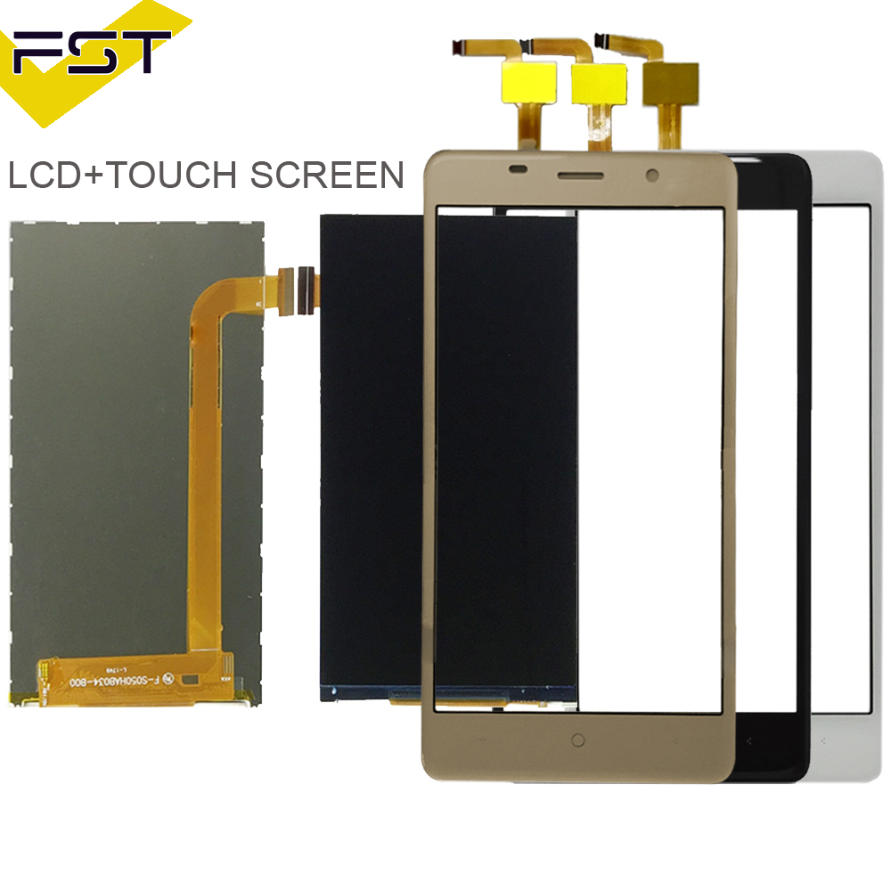 100% Tested Black/White/Gold Color For Leagoo M5 LCD Display+Touch Screen Digitizer Glass Touch Panel Replacement+Tools