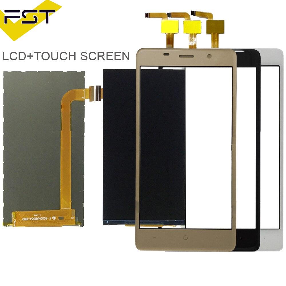 100% getestet Schwarz/Weiß/Gold Farbe Für Leagoo M5 LCD Display + Touchscreen Digitizer Glass Touch Panel ersatz + Werkzeuge