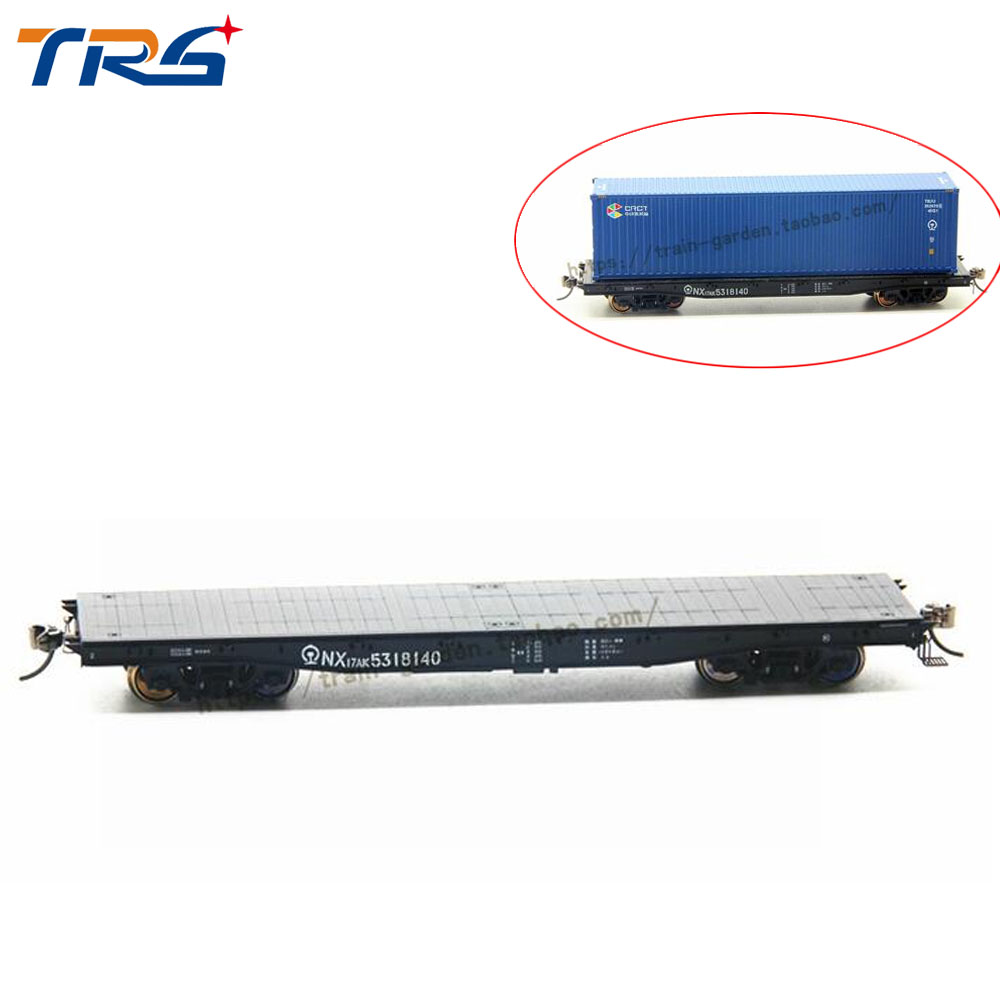 HO scale Model Train Transport Truck Car PF02XX NX17K / AK Flatbed Transporter Freight compartment 1:87 train truck kits