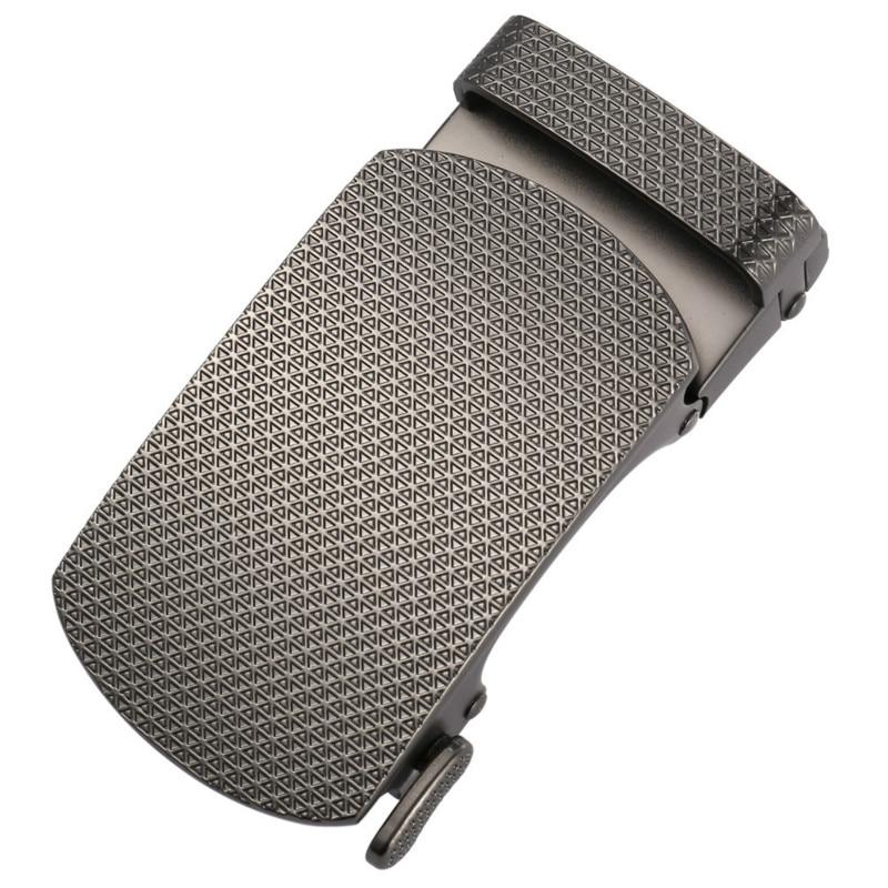New Automatic Zinc Alloy Buckle Belt Buckle LY136-22060 Men Plaque Belt Buckles For 3.5cm Ratchet Men's Apparel Accessories