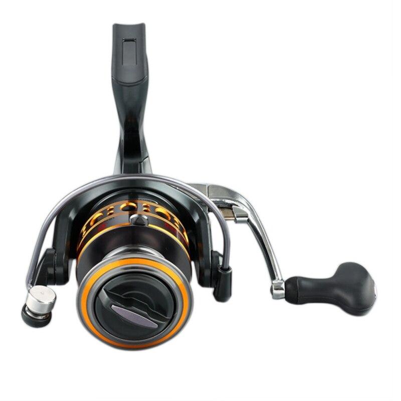 2018 New Ball Bearings 12+1BB Spinning Fishing Reel 5.5:1 Spinning Reel Casting Fishing Reel Lure Tackle Line Water Drop Wheel
