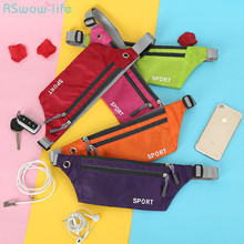 Multifunctional Outdoor Sports Ultra-Thin Waterproof Mobile Wallet Mens and Womens Wallets Running