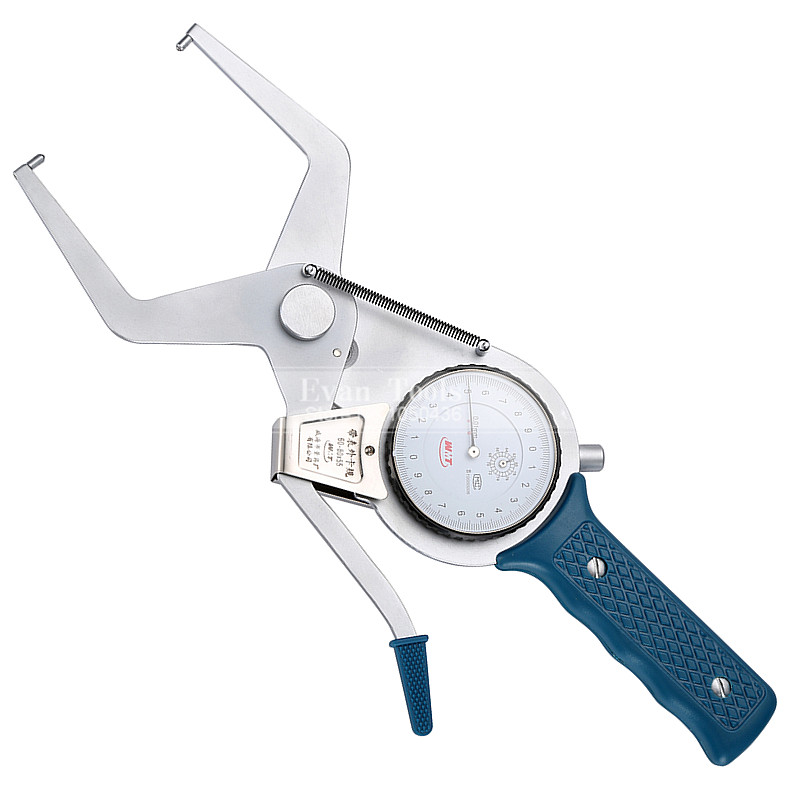 Outside Dial Caliper Gauges Metric 60-80*55mm/0.01mm Shockproof Carbide Points Micrometer Measuring Tools цена