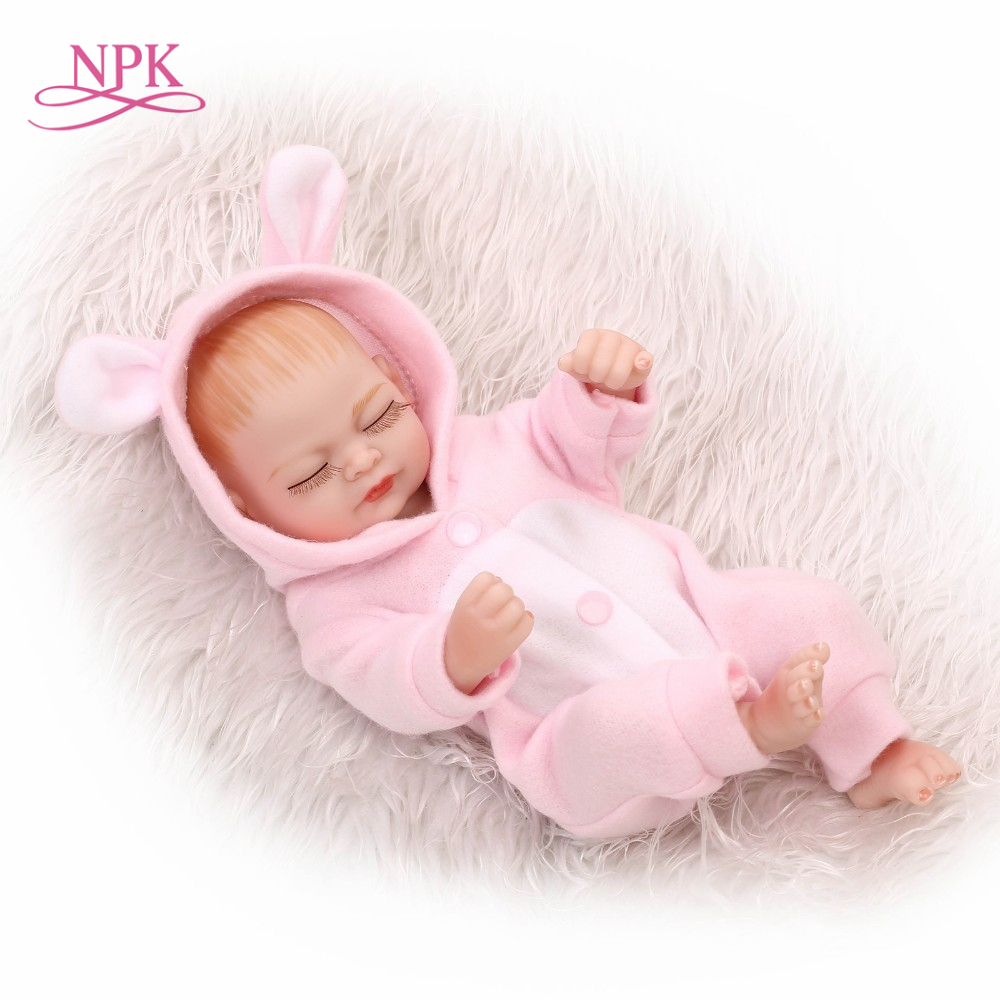 12inch 25CM premie newborn sweet small real soft gentle touch reborn baby doll Christmas gift for children