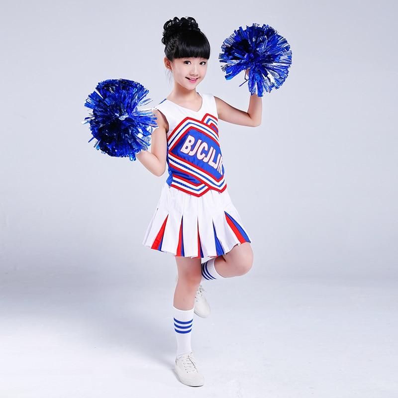 Trajes de porristas para niños Vestido de porristas Niños bailan - Novedad