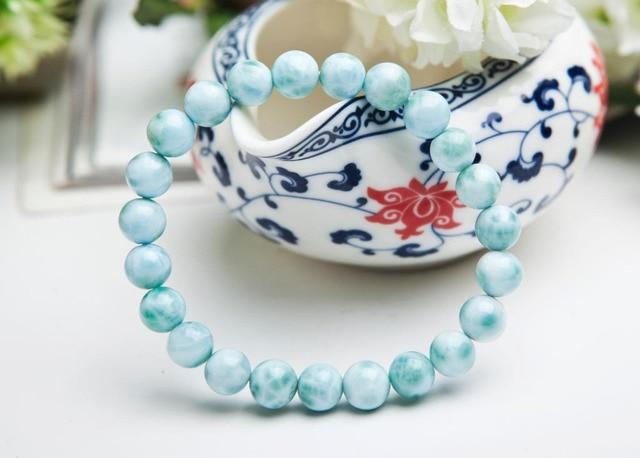 Bracelet En Larimar Femme