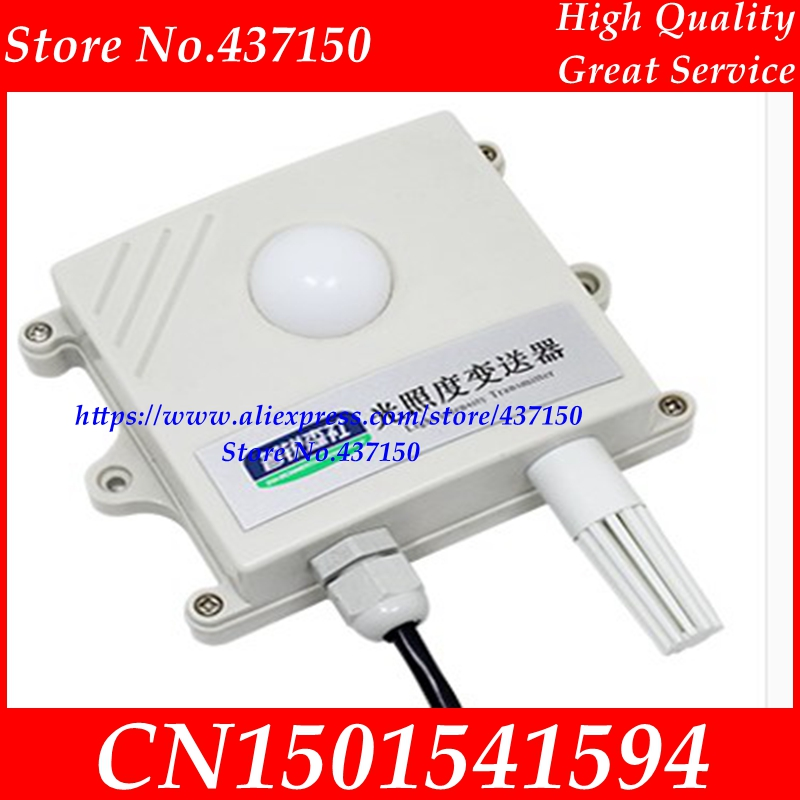 Image 3 - Light sensor 0 10V 0 5V 4 20mA RS485 200000Lux 65535Lux industrial  intensity illumination acquisition transmitter LCD display-in Sensors from Electronic Components & Supplies