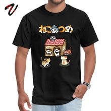 Neko Atsume 2019 Discount Rap Sleeve Birthday T-Shirt All Alan Walker Round Neck Men Tops Shirts Casual T Shirt Summer