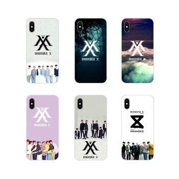 Fundas de teléfono para Samsung A10, A30, A40, A50, A60, A70, Galaxy S2, Note 2, 3, Grand Core, accesorios Prime, Monsta X, KPOP Boy Group