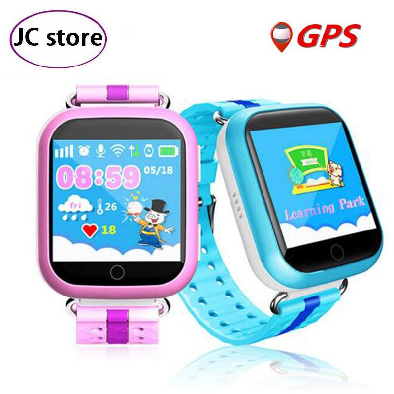 imágenes para Los niños la seguridad perdida anti rastreador de smart watch q750 q100 1.54 pulgadas para niños reloj gps de emergencia para iphone & android pk q90