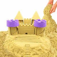 Neue 500g Dynamische Sand Spielzeug Ton Pädagogisches Farbige Weiche Magie Sand Raum Indoor Arena Spielen Sand Kinder Spielzeug für kinder geschenk Modell