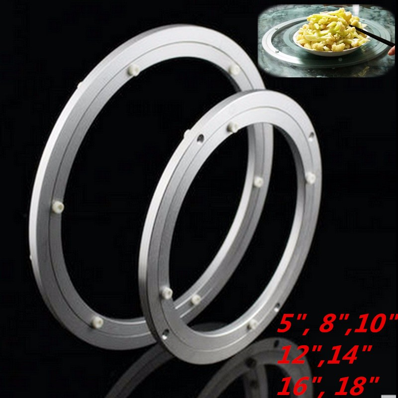 Heavy Duty Aluminium Rotating Bearing Turntable Turn Table Round Swivel-Plate Surface Smooth Easy Setup Screwed or Fixed ...