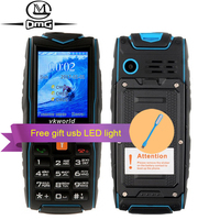 Original VKWorld Stone V3 2 4inch Dual Sim Card GSM IP67 Waterproof Outdoor Cell Phone 5200mAh