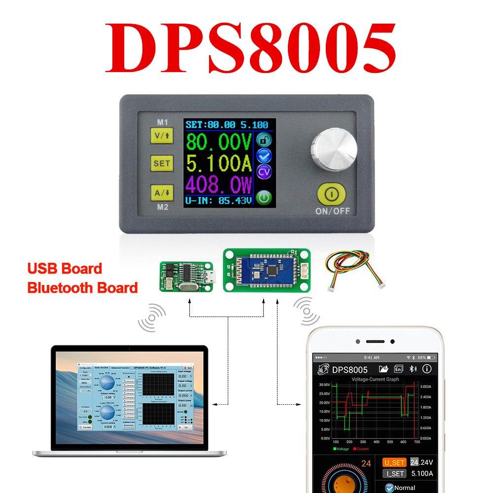 DPS8005 programmable constant tension courant Step-down module d'alimentation Voltmètre Ampèremètre buck convertisseur 80 v 5A 40% Off