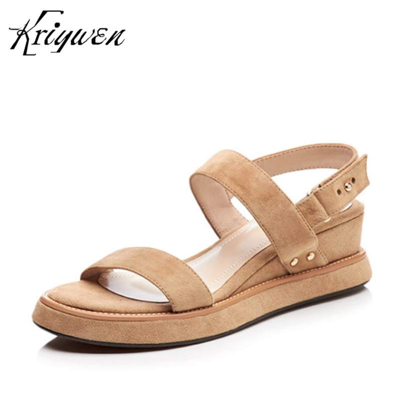 Woman Sandals Summer New Arrival Women Wedges Chunky Heels Party Shoes Concise Lady Elegant Sapato Feminino sandalia feminina phyanic 2017 gladiator sandals gold silver shoes woman summer platform wedges glitters creepers casual women shoes phy3323