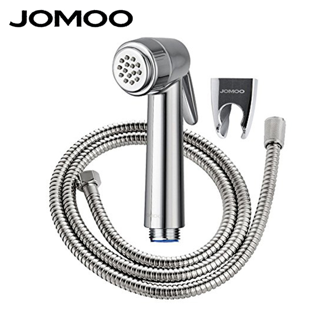 Jomoo Abs Chrome Plated Handheld Bidet Spray Set With Wall Bracket
