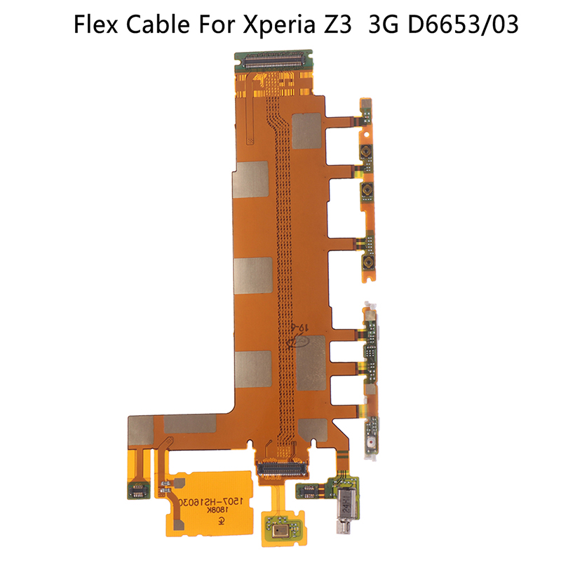 Cable Volume Power Button & Microphone Flex Replacement Motherboard Flex  for Sony Xperia Z3 3G D6653/03(China)