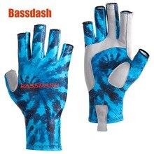 Bassdash ALTIMATE защиты от Солнца Рыбалка перчатки без пальцев UPF 50 + Для Мужчин's Для женщин УФ перчатки для каякинга детский Пеший Туризм Велоспорт