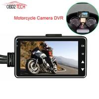 HD Dual Mini Camera Motorcycle DVR KY MT18 Motor Dash Cam Front Rear Recorder Motorbike Electronics