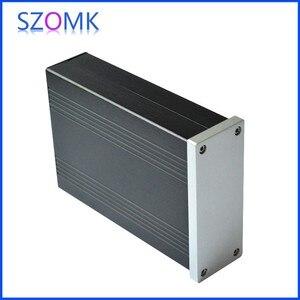 Image 3 - 1 pcs, szomk aluminum housing extruded box 40*105*150mm new arrival shenzhen audio amplifier enclosure, junction box
