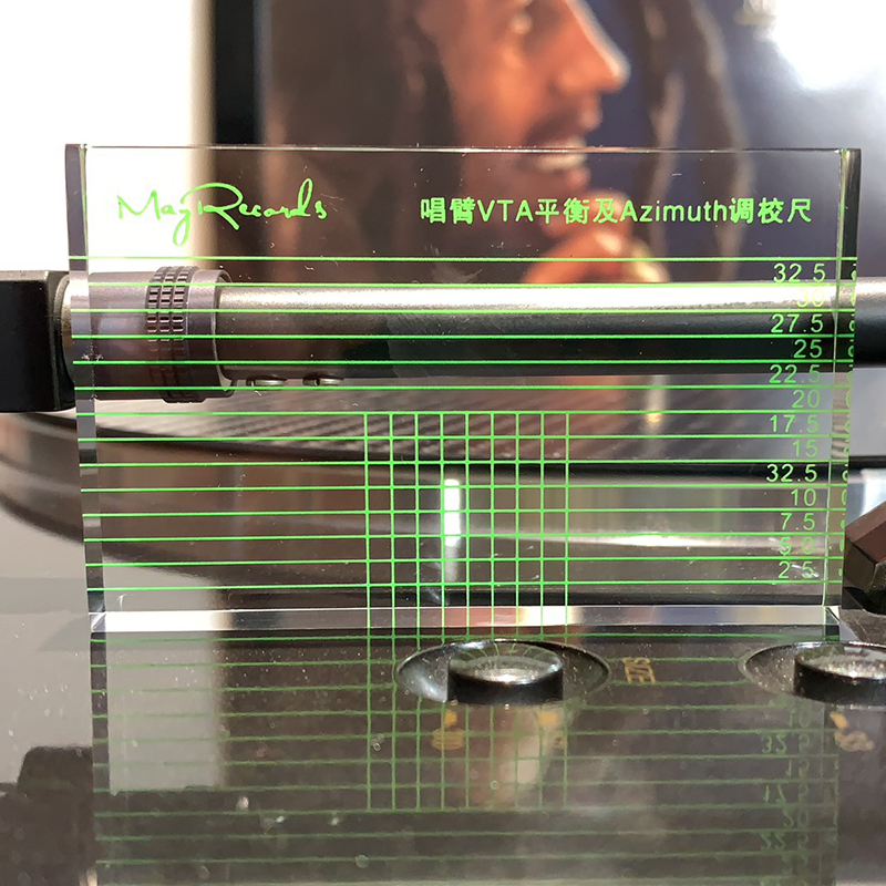 HIGHLY ACCURATE 10mm TONEARM SPIRIT LEVEL  FOR  TURNTABLE HEADSHELL