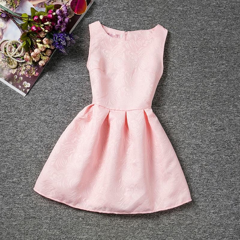 Compra rosa vestido de cumplea os online al por mayor de - Cumpleanos para ninos de diez anos ...