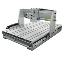 6040 CNC Aluminium Frame router milling machine mechanical kit 80mm Clamp
