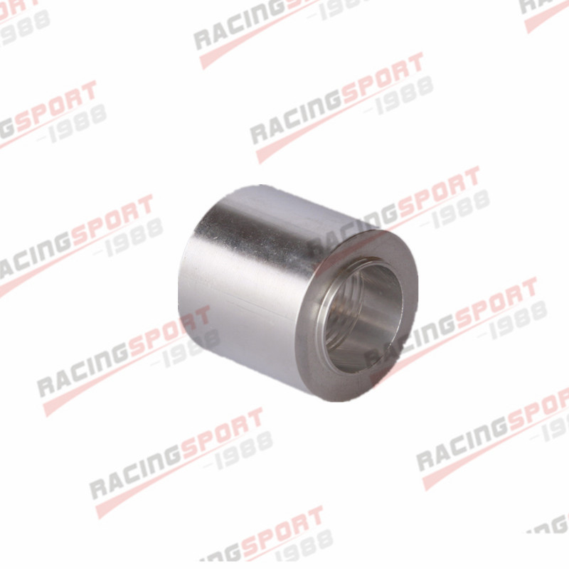 6 AN MALE ALUMINUM WELD ON FITTING BUNG MADE IN THE USA 10 pack
