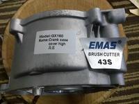 Novo aftermarket cárter capa alta e baixa para honda gx200  gx160|gx160 carburetor|crankcasegx160 head -