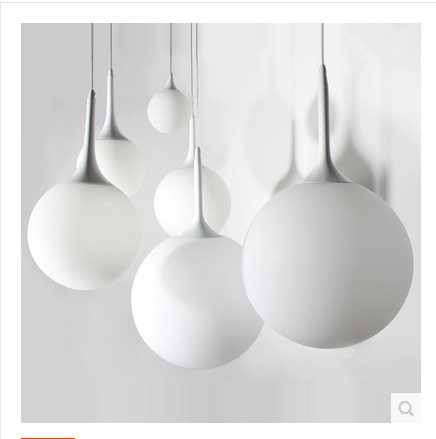 A1 Simple Pendant Lights white milk glass ball stair light clothing store restaurant balcony lobby bar beaver LIGHTS FG916 angibabe 2 in 1 protective tpu pc back case for iphone 6 4 7 blue