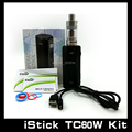 100% Auténtico iStick Eleaf iStick 60 W TC Starter Kit Caja TC60W Mod Kit Completo Con Melo 2 Atomizador 18650 Istick 60 W 1 Unids/lote