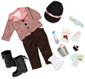 18inch American Girl Doll Horse Riding Apparel Clothes Including All Accessories Reborn Babies Doll JPO-3