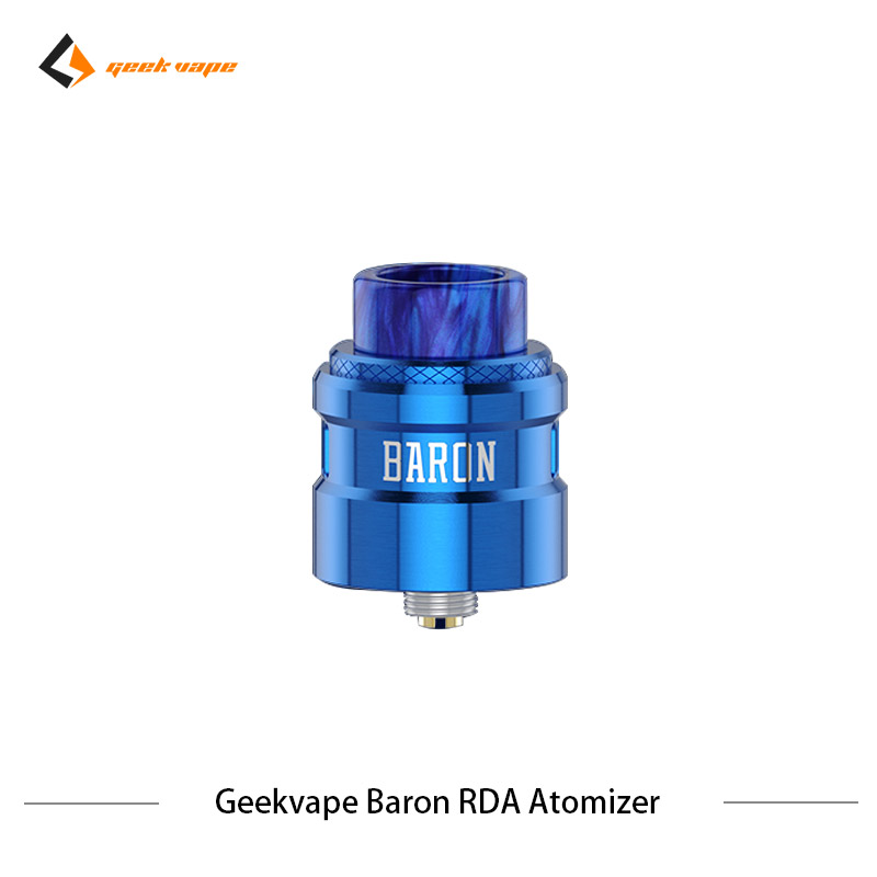 2 pcs/lot Geekvape Baron RDA système de flux d'air 24mm atomiseur RDA Squonker RDA 510 vs drop dead RDA réservoir de Vape de Cigarette électronique - 6