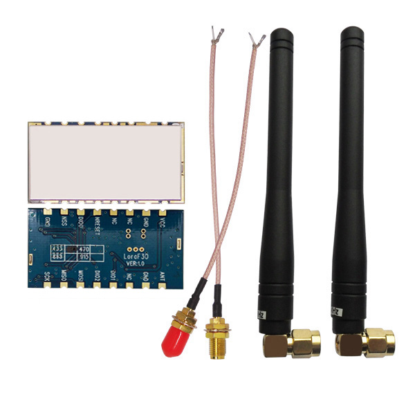 bilder für Neue 2 teile/los Lora1278F30-30dBm sx1278 LORA Modul kleine größe 6Km zu 8Km 433 MHz high power 1 Watt langstrecken RF transceiver